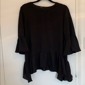 Black blouse for night out or work
